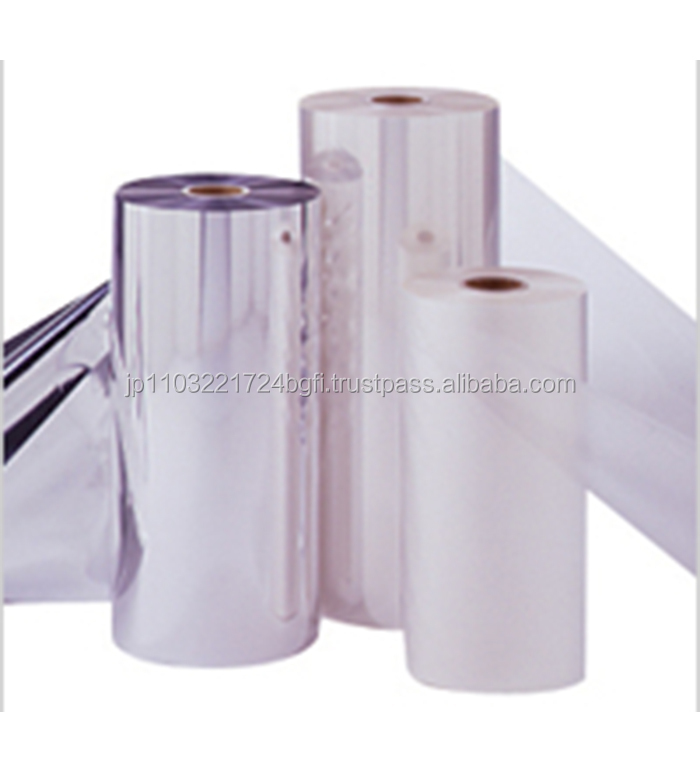 Multi-functional transparent plastic film for packaging food , other packaging available