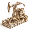 Wood Trick Oil Derrick 3d puzzle, wooden model kits