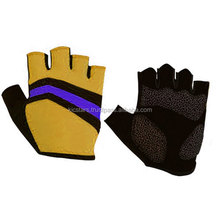 Reflective Breathable Lycra Anti vibration Cycling Glove
