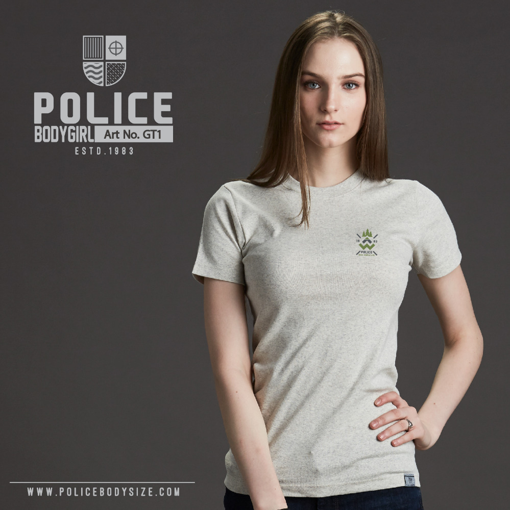 T Shirt Policebodygirl TopDyed Element Bodygril