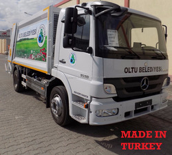 6 m3 Rear Loaded Garbage Compactor truck