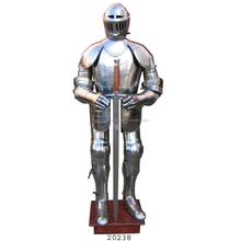 Medieval Full Body Armor Suit with Sword For Sale