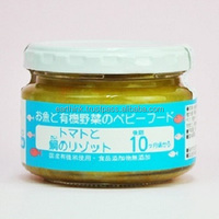 baby Japanese safty high-quality JAS organic baby food bream's tomato risotto ( from 10 months) 100g