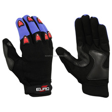 Rubber Safety Mechanical Rubber Palm Work Gloves Equipment | Auto Mechanic Gloves
