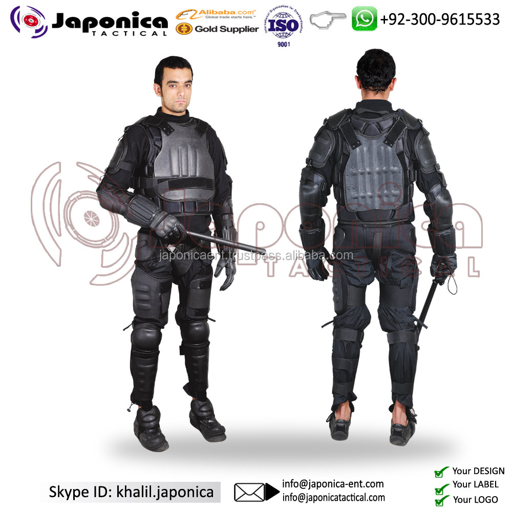 Top Selling Lightweight Full Body Protective Gear Anti Riot Police Uniform Best Quality Anti Riot Suit Military Police Uniform
