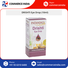 Patanjali DRISHTI Herbal Eye Drop (10ml) Bottle for Export Supply
