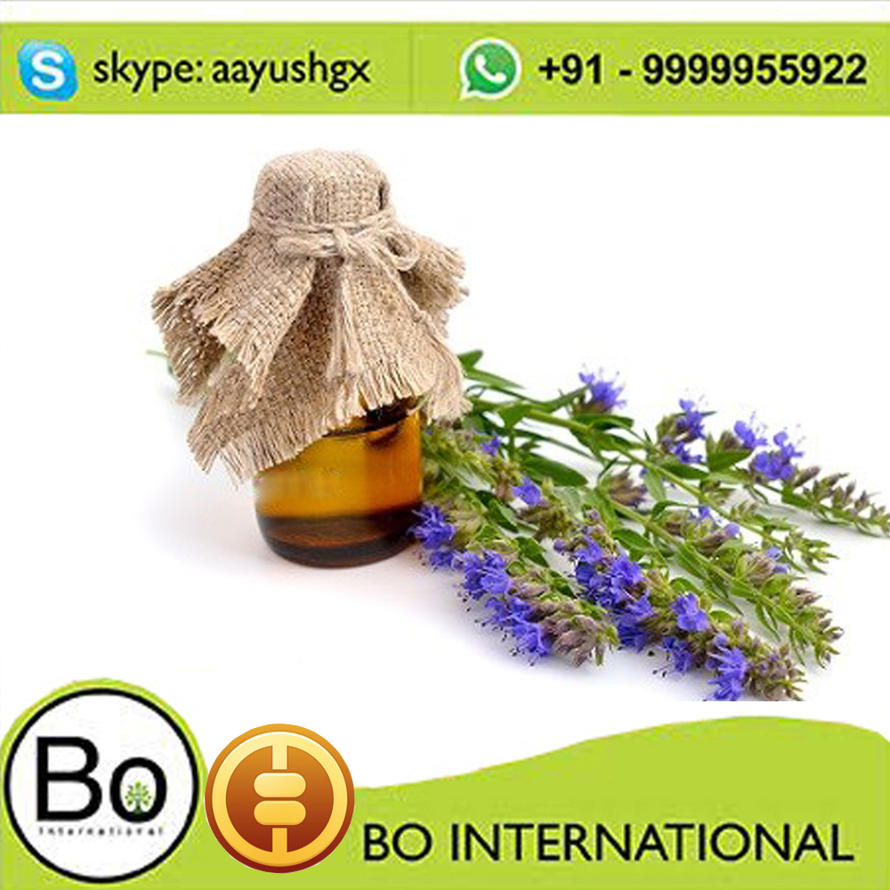 100& Natural Hyssop Pure Essential Oil