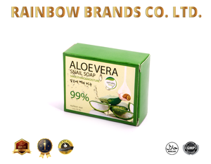 Aloevera Snail Soap, smoothing and moisture, herbal natural