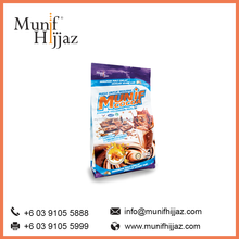 Munif Cocoa Arabic Gum chocolate malt drink