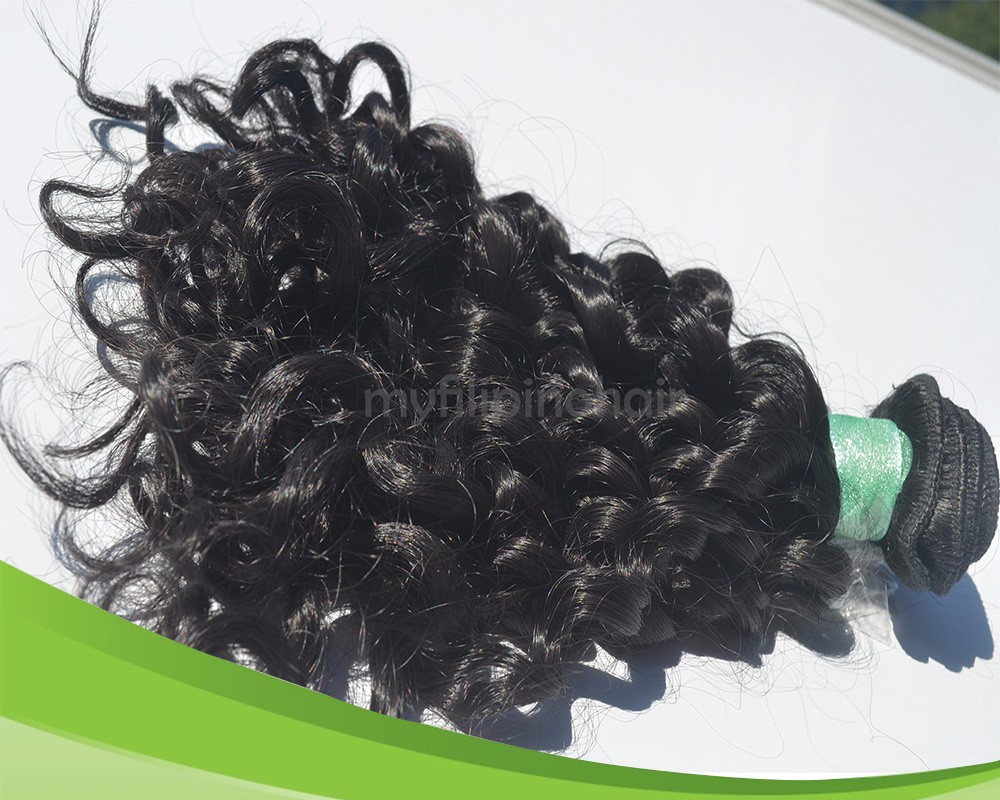Stunning Human El Nido Curl Hair Extension by the Philippines