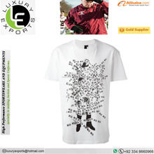 factoy hot selling music light up t shirt sound activated led t shirt