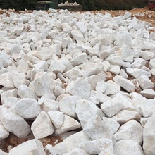 HIGH PURITY LIMESTONE LUMP CaCO3 98%, SIZE 20 - 40 CM