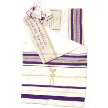 MessianicJewish prayer shawls Tallits 72X22inch. With matching bag