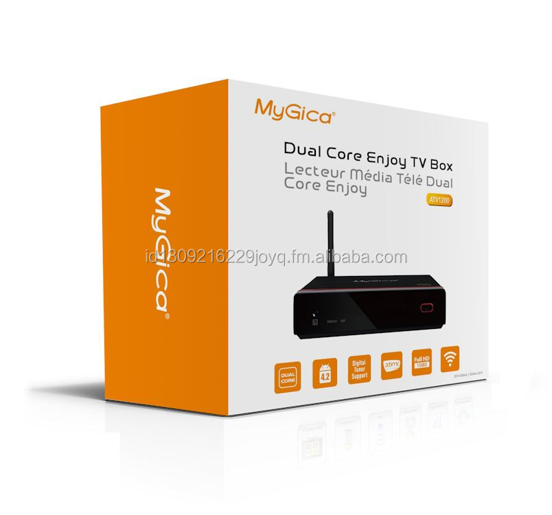 ATV 1200 TV Box, 4.2.2 Dual Core Streaming Media Player Plus, with XBMC/KODI