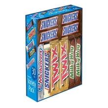 MARS Chocolate Full Size Candy Bars Assorted Variety Box