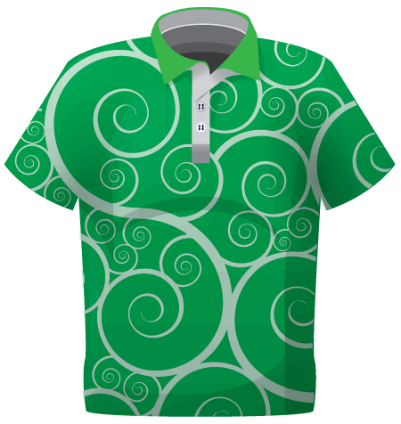 Polo t-shirt Sublimated own design