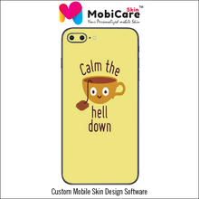 Cutter and Software for Making Customized Cell Phone Sticker/Skin