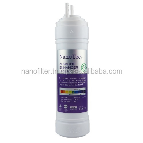 10 inch Korea Technology High Quality Alkaline Enhancer Water Filter U-type Cartridge