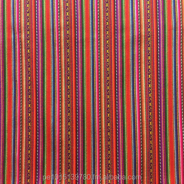 Beautiful Red Peruvian Inca Blanket, Peru fabric