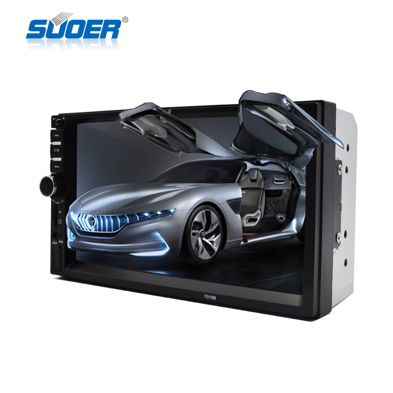 Universal 7inch touch screen user manual car mp5 player double din MP5 car dvd player with bluetooth car radio 7018b wholesale
