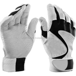 Adult Professional Team Baseball Batting Gloves /Genuine Leather Professional Baseball Batting gloves, Digital Leather Palm