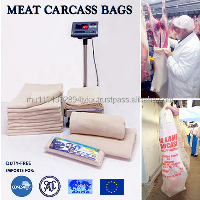 STOCKINETTE MEAT WRAP BAGS (HIGH QUALITY) - BOTSWANA - 0% Import Duty with COMESA
