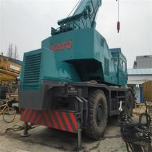 Expoter 50 Ton KR50H Fully Hydraulic Used Kato Rough Terrain Crane For Sale