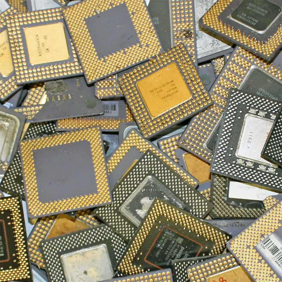 Intel Pentium Pro Ceramic CPU Processor Scrap Good Price