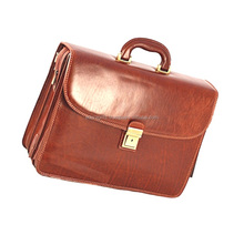 Cheap leather laptop bags in factory price / laptop bags with shoulder strap / elegant laptop bag with fashion design