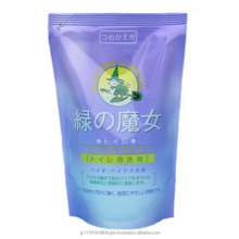 Cost-effective bulk liquid detergent refill (360ml x 24) for toilet with multiple functions made in Japan
