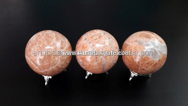 Honey Calcite Gemstone Sphere : Calcite Gemstone Ball