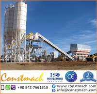 50 m3/h FIXED TYPE CONCRETE BATCHING MACHINE FOR SALE, 2 YEARS WARRANTY, CE CERTIFIED, BRAND NEW