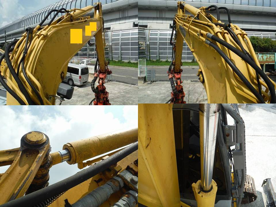 USED FORESTRY EXCAVATOR KOMATSU PC78US-6N0 from Japan