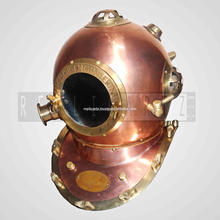 Iron aluminium diving helmet