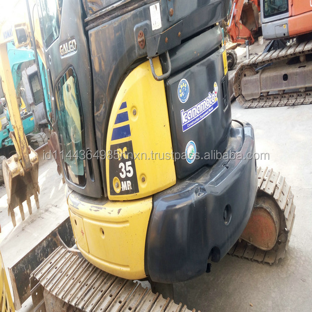 KOMATSU PC30MR-2 used mini excavator Japan's original new mini kubota excavator price in shanghai for sale