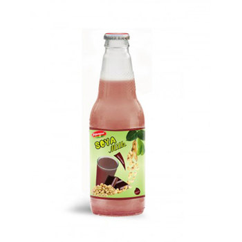 Natural Fruit Juice Soya Milk Chocolate Flavour Glass Bottle 500ml Milk suppliers