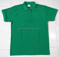 Factory Price Custom Design Flat Knit Collar Pique Polo T-Shirt.