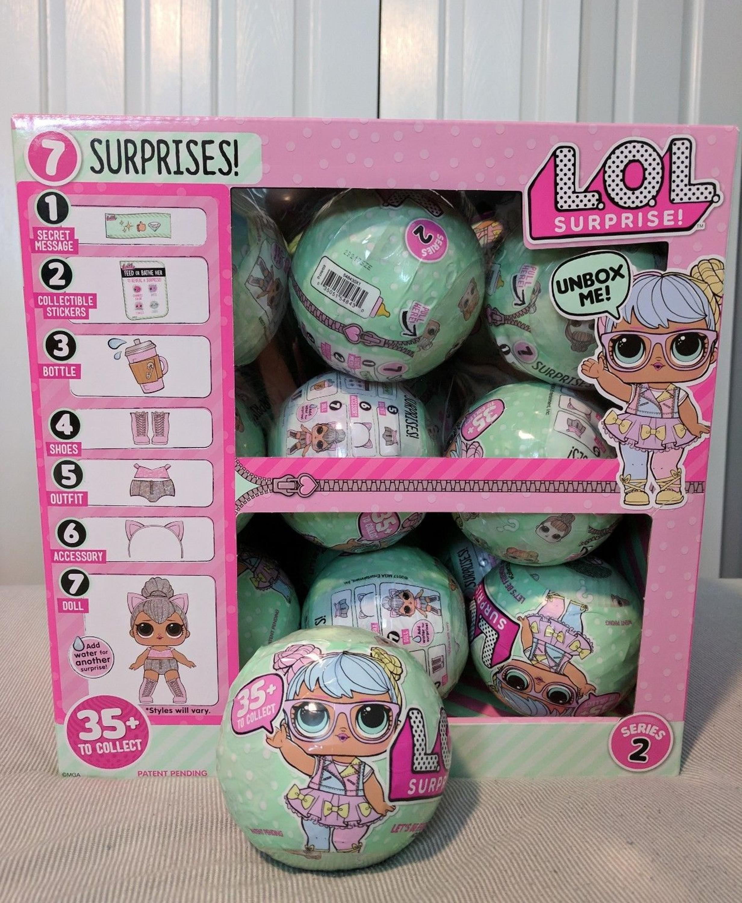 LOL Surprise Doll Series 2 Lets Be Friends - ONE BALL, Big Sister