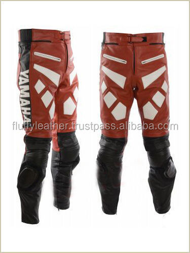 Motorbike Leather trouser Motorcycle Leather Pant Biker Racing Pant--MT-145