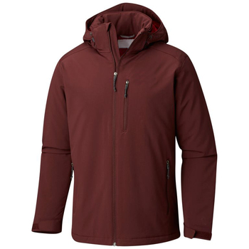 Brown Soft Shell Jacket Hoodie for Men 2019