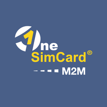 OneSimCard M2M GLOBAL IoT SIM Card Starter Kit (5 SIMs) with 500 KB Test Data Included, M2M Service in 140+Countries
