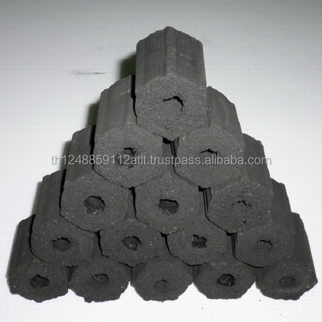 High Quality Coconut Shell Charcoal Briquettes with cheap price, no smoke with high heating
