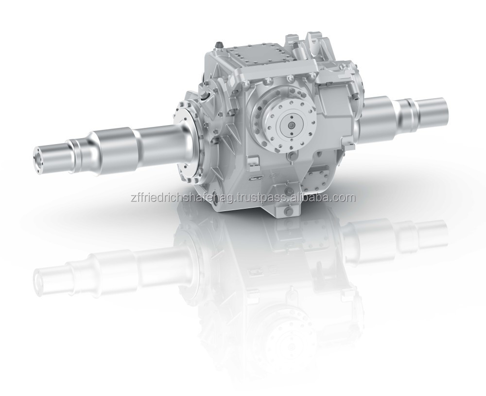 Technological innovation and the modular design define the concept for the robust axle drive.