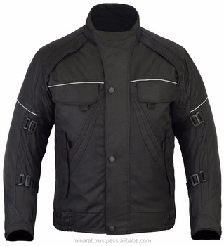All Weather Black Camouflage CE Armoured Waterproof Motorcycle Motorbike Cordura Jacket