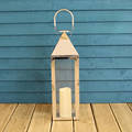 long handle stainless steel candle lantern