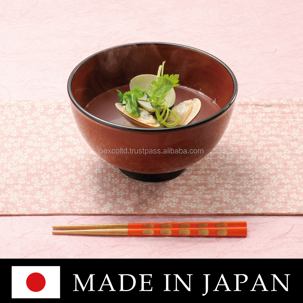 Various types of handcrafted Japanese Urushi lacquer ware at reasonable prices , sample order available