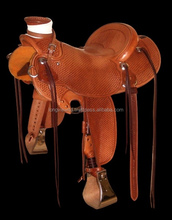 American leather good quality Western saddles wholesale