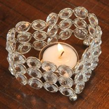 beaded crystal luxurious candle cup tealight glass votive candle holders