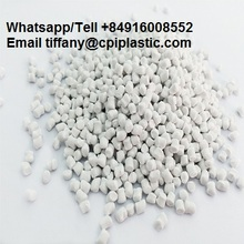 Polyethylene granules/pellets CACO3 filler masterbatch PE carrier, plastic raw materials