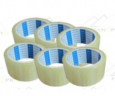 Sealing tape package mailing tape